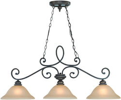 0-007952>Highland Place 3-Light Island Pendant Light Mocha Bronze