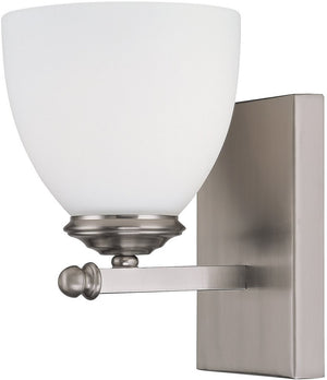 "5""W Chapman 1-Light Sconce Matte Nickel"