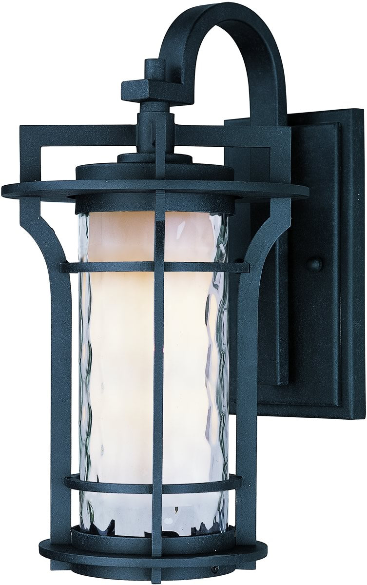 "21""H Oakville LED 1-Light Outdoor Wall Lantern Black Oxide"