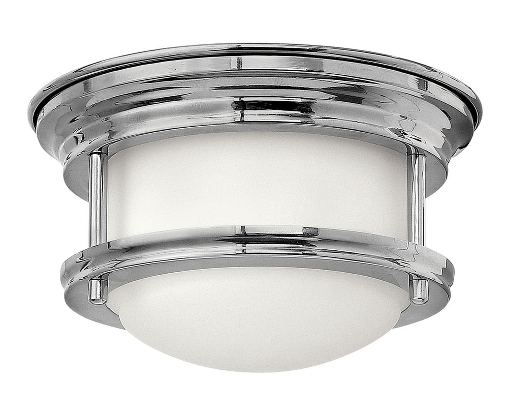 "8""W Hadley 1-Light Flush Mount in Chrome"