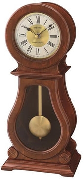 "15""H Mantle with Chime and Pendulum Clock"