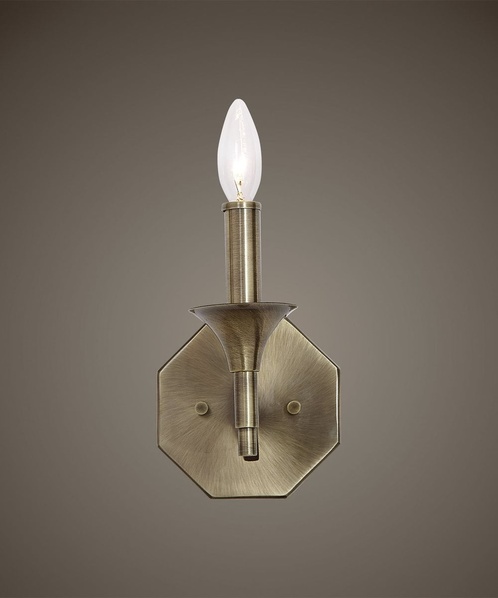 Brant Aged Brass 1 Light Sconce