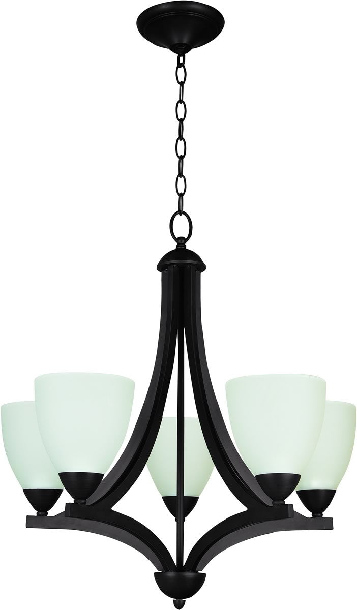 Almeda 5-Light Chandelier Old Bronze