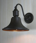 Quorum 1-Light Outdoor Wall Lantern Oiled Bronze 76186