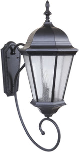 0-013115>Newberg 3-Light Large Outdoor Wall Light Midnight
