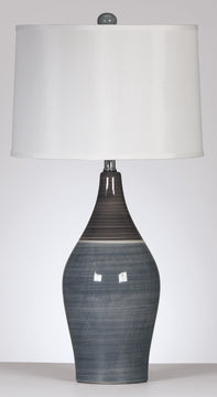 "28""H Niobe Table Lamps Gray (Set of 2)"