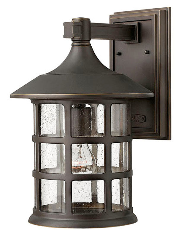 "15""H Freeport Outdoor Wall Lantern Oil Rubbed Bronze"