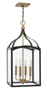 Clarendon 4-Light Single Tier Foyer in Bronze