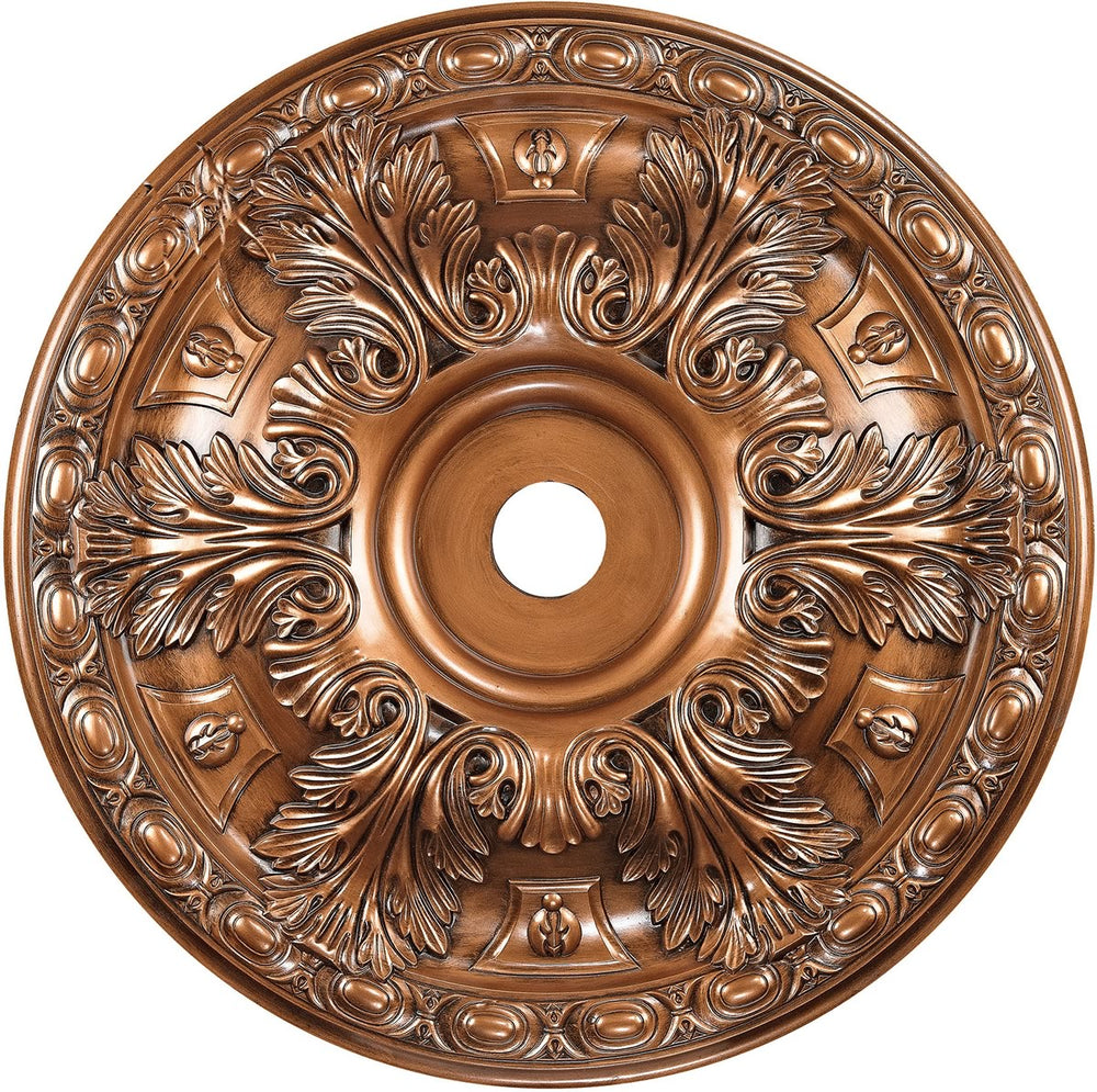 "36""W Pennington  Ceiling Medallion Antique Bronze"