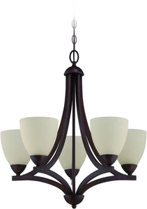 0-012748>Almeda 5-Light Chandelier Old Bronze