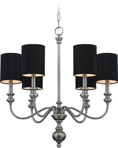 0-009488>Willow Park 6-Light Chandelier Antique Nickel