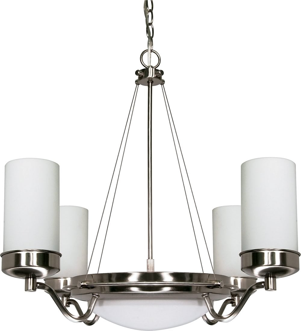 Polaris 6-Light Chandelier Brushed Nickel