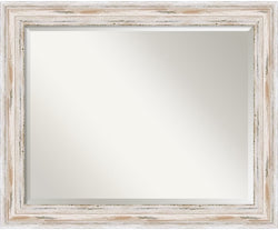 "33x27"" Alexandria Mirror Whitewash"
