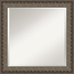 "24x24"" Barcelona Square Mirror Framed Mirror"