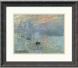 "18x15"" Claude Monet Impressions at Sunrise 1873 Framed Print"