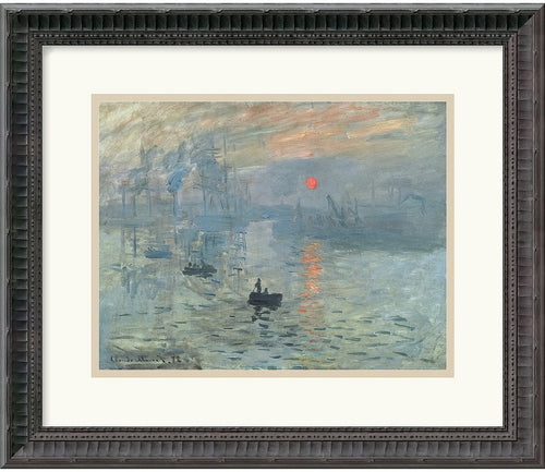 Amanti Art Claude Monet Impressions at Sunrise 1873 Framed Print AA114883