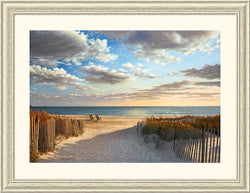 Amanti Art Daniel Pollera Sunset Beach Framed Print AA140495