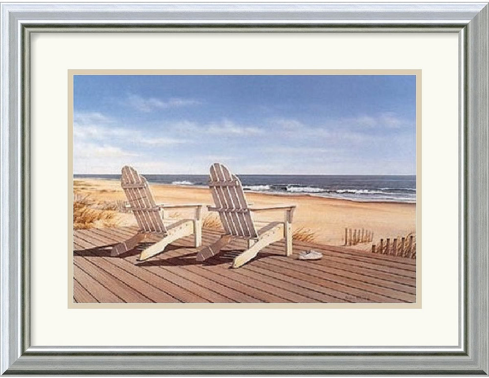 "20x16"" Daniel Pollera Point East Framed Print"