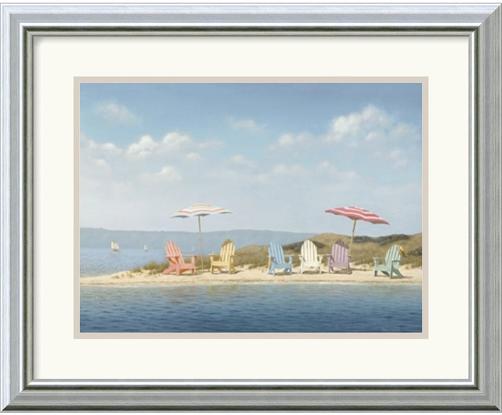 "20x16"" Daniel Pollera Summer Colors Framed Print"