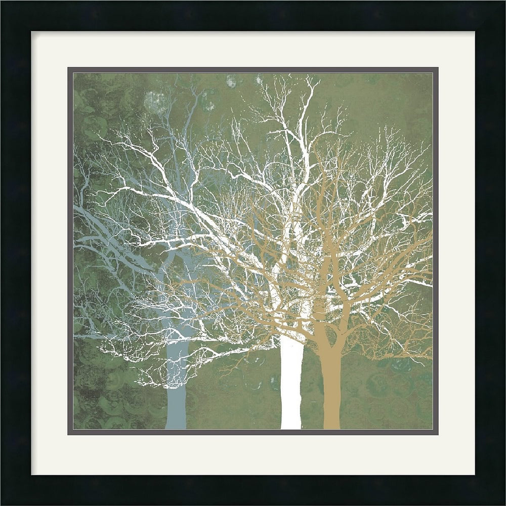"22x22"" Erin Clark Quiet Forest Framed Print"