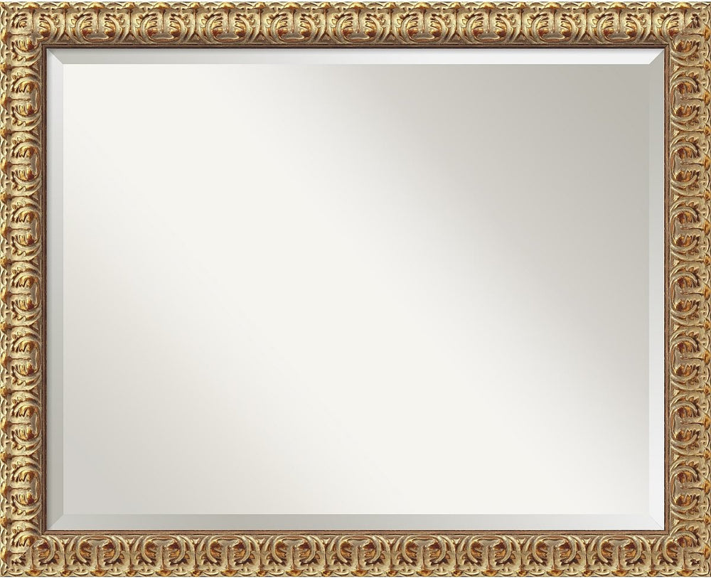 "26x32"" Florentine Gold Mirror Large Framed Mirror"