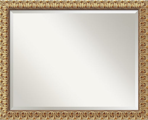 Amanti Art Florentine Gold Mirror Large Framed Mirror AA01034