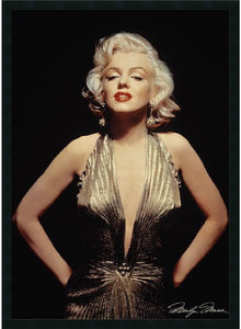 Amanti Art Marilyn Monroe Gold Framed Print AA01298