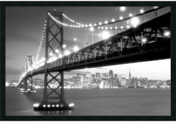 "37x25"" San Francisco Framed Print"