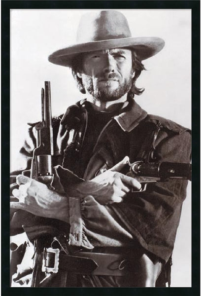Amanti Art Clint Eastwood Framed Print AA01588