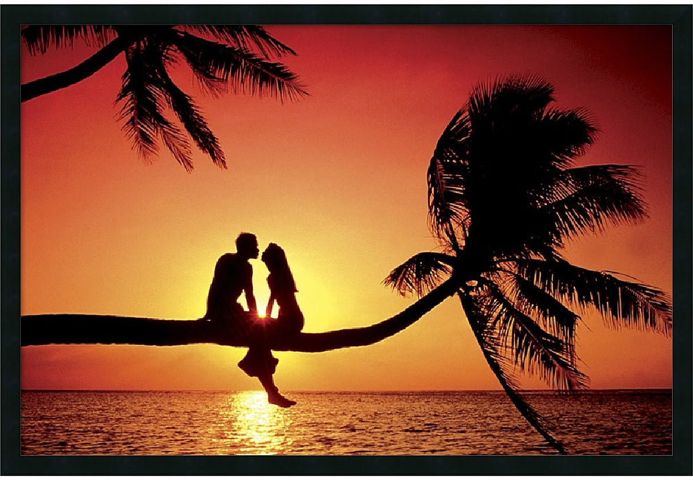 "37x25"" Summer Love Framed Print"