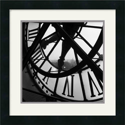 Amanti Art Tom Artin Orsay Clock Framed Print AA114126