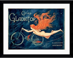 Amanti Art Georges Massias Cycles Gladiator Framed Print AA140505