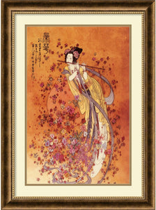 Amanti Art Goddess of Prosperity Framed Print by Chinese Burnished Bronze AA177453
