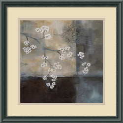 Laurie Maitland Spa Blossom II Framed Art Print Black