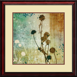 Tandi Venter Organic Elements I Framed Art Print Spice/Burnt Sienna
