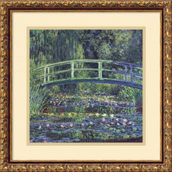 Amanti Art Claude Monet Water Lily Pond 1899 (blue) Framed Art Print AA430965