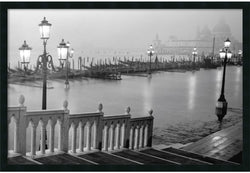 Amanti Art Grand Canal Venice Wall Art Satin Black AA577253