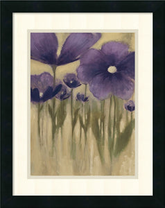 Amanti Art Summer Bloom I Framed Print by Vittorio Maria Satin Black AA579044