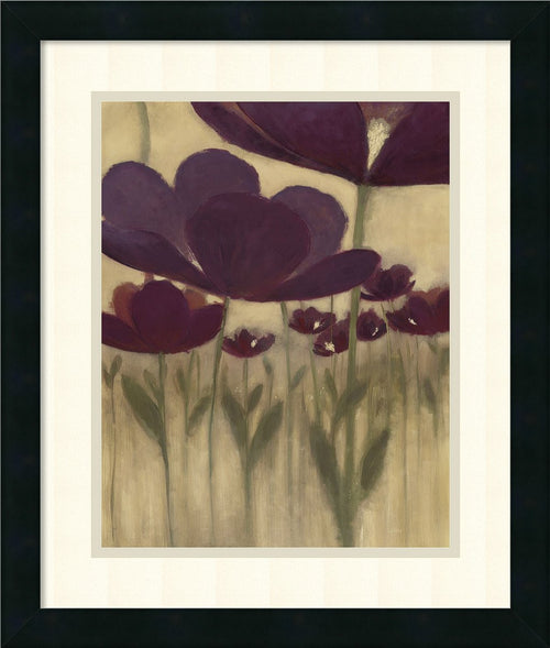 Summer Bloom II Framed Print by Vittorio Maria Satin Black