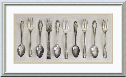 Amanti Art Antique Collection II Framed Print by Assaf Frank Burnished Silver AA579079