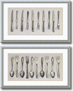 Antique Collections set by Assaf Frank Burnished Silver