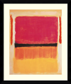 Amanti Art Mark Rothko Untitled 1949 Framed Art Satin Black AA979470