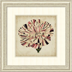 Vision Studio Pop Floral VI Framed Art Print Oyster Shell/Oyster Bay