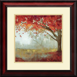 Amanti Art Asia Jensen A Sense of Space I Framed Art Print Pure White/Heritage Gray AA986663