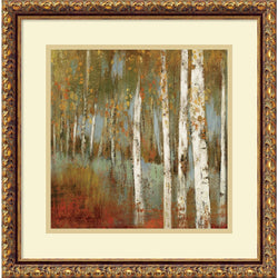 Allison Pearce Along the Path I Framed Art Print Pure White/Heritage Gray