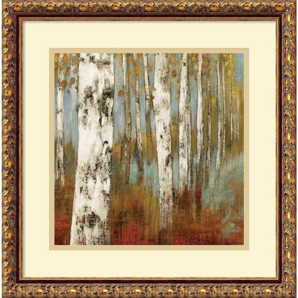 Allison Pearce Along the Path II Framed Art Print Pure White/Heritage Gray