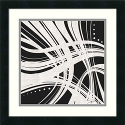 Amanti Art Jason Higby Whip It I Framed Art Print Satin Black AA987153