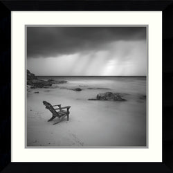 Amanti Art Moises Levy Storm Framed Art Print Satin Black AA987565