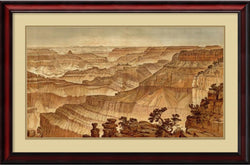 Amanti Art William Henry Holmes Grand Canyon - Panorama from Point Sublime AA987770