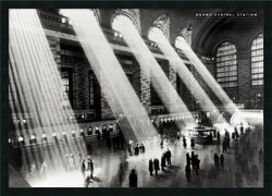 "37x25"" Grand Central Station Framed Print"
